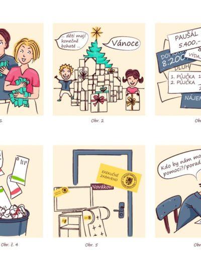 komiks rodinné poradny